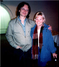 Sonny Landreth and Terrie Lambert: photo copyright 2003 Carl Weingarten